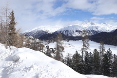 Panorama St. Moritz (Iosif Trif) Tags: stmoritz switzerland schweiz suisse graubunden travel winter trees alps