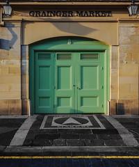 grainger market doors (lowooley.) Tags: graingermarket doors newcastleupontyne northeastengland