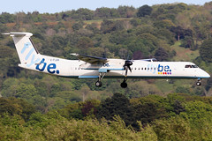G-FLBA_11 (GH@BHD) Tags: gflba bombardier dehavilland dhc dhc8 dhc8402q dasheight be bee flybe bhd egac belfastcityairport aircraft aviation airliner turboprop