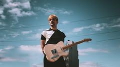 Alan Alaska con cables del tender (Laurita Church) Tags: music guitar portrait singer lsestudio parquepatricios buenosaires argentina canon 80d sigma 30mm