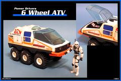 Buddy L - 6 Wheel ATV  1984  03 (StarRunn) Tags: buddyl 6wheelatv atv toy vehicle motorizedvehicle sf sciencefiction space 1980s 375 actionfigure chapmei stellarforce powerdrivers