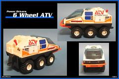 Buddy L - 6 Wheel ATV  1984  02 (StarRunn) Tags: buddyl 6wheelatv atv toy motorizedtoy vehicle sf sciencefiction 1980s 375 space powerdrivers