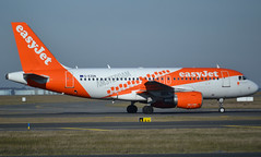 """G-EZDN, Airbus A319-111, c/n 3608, easyJet, """"Amsterdam"""", Amsterdam special livery, CDG/LFPG 2019-02-17, onto taxiway Alpha-Loop. (alaindurandpatrick) Tags: gezdn cn3608 a319 a319100 airbus airbusa319 airbusa319100 microbus jetliners airliners u2 ezy easy easyjet airlines amsterdam specialliveries cdg lfpg parisroissycdg airports aviationphotography"""