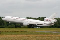 N720AX (PlanePixNase) Tags: aircraft airport planespotting haj eddv hannover langenhagen omni mcdonnell douglas dc1030 dc10