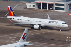 Philippines A321-271N RP-C9933 003 (A.S. Kevin N.V.M.M. Chung) Tags: aviation aircraft aeroplane airport airlines plane spotting macauinternationalairport mfm taxiway airbus a320series a321neo