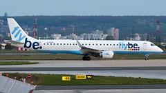 Embraer ERJ-195LR G-FBEK Flybe (William Musculus) Tags: airport spotting aviation plane airplane william musculus paris charles de gaulle lfpg cdg gfbek flybe embraer erj195lr erj190200 lr erj195 be bee
