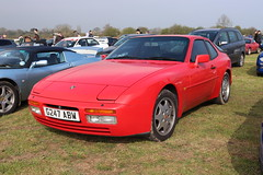 Porsche 944 S2 G247ABW (Andrew 2.8i) Tags: haynes museum sparkford classic car cars classics breakfast meet show german coupe sports sportscar gt tourer grand hatch hatchback series 2 s2 944s2 944 porsche