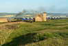 Clagging from Crag Hall (Kingmoor Klickr) Tags: gordonedgar boulby polyhalite freightliner 66596 huntscliff warsetthill skinningrove craghall railfreight