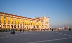 Lisbon (romanboed) Tags: leica m 240 summicron 28 europe portugal lisbon city cityscape old town urban lisboa lisabon 里斯本 리스본 リスボン лиссабон لشبونة praca comercio arcade street square