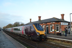 Cross Country Trains Voyager 221129 (Will Swain) Tags: camborne station 16th november 2018 cornwall south west train trains rail railway railways transport travel uk britain vehicle vehicles england english europe cross country voyager 221129 class 221 129