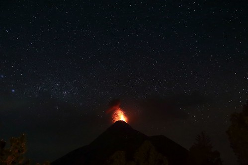Fire in the Night Sky