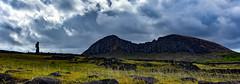 Moai at Ahu Tongariki, Easter Island (David D Moore) Tags: easterisland rapanui isladepascua moai ahutongariki ranoraraku anakena ahuakivi theseven birdmancult birdman birdmen orongo ahutahai koteriku tahai vaiure ranokau polynesia chile
