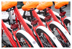 HTM bikes (leo.roos) Tags: htmbike bike bicycle fiets red orange rood oranje kijkduin denhaag thehague a7rii jml54inchf45copylens jml13745 darosa leoroos