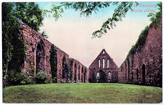 Battle Abbey - The Dormitory (pepandtim) Tags: postcard old early nostalgia nostalgic 27bad69 battle abbey sussex dormitory refectory