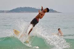surf player (alobos life) Tags: action child boy children water niños niño sport deporte nice cute brazilian happy fun garoto mar rio de janeiro brasil brazil arpoador praia beach body candid outdoors surf surfing olas enjoying