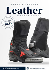 Ride-safe-and-secure-with-our-beautiful-collection-of-leather-MotoGP-boots (devilsondotcom) Tags: leather boots motogp motogpgear protection riddingprotection mens highquality devilson