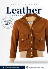 Buy-your-favorite-leather-Bomber-Flight-jacket-for-fashion-wears (devilsondotcom) Tags: bomber leather jackets mens fashion cool leatherjackets menswear