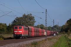 DB 151 132 + Erzzug/ertstrein/ore train Ziltendorf - Hamburg  - Ahrensdorf (Rene_Potsdam) Tags: deutschebahn br151 ahrensdorf railroad treinen trains trenes züge brandenburg deutschland europa europe