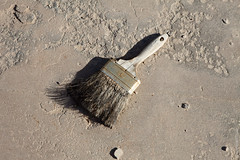 Abandoned Paint Brush At Darwin, California (thedot_ru) Tags: ghosttown ghost town ground brush paint abandoned left old monochrome floor travel travels travelling trip tour tourism tourist adventure wanderlust california cali socal darwin usa unitedstates us america canon5d 2014
