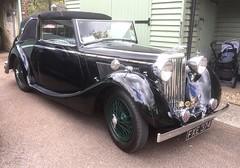 FXE374 1939 Jaguar SS 1.7L Drop head coupe (kitmasterbloke) Tags: vehicle car vintage classic transport uk
