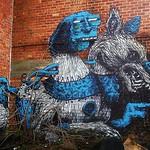 #nostalgiaweek : another #ROA collab, this one with #Resto, that was very well hidden before it was demolished. #streetartfromthepast . #Gent #streetart #Belgium #urbanart #graffitiart #streetartbelgium #graffitibelgium #visitgent #muralart #streetartlove thumbnail