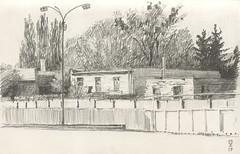 Behind the walls (Bohdan Tymo) Tags: pencil drawing