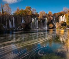 Trebižat (Leonardo Đogaš) Tags: trebižat river vodopadi waterfalls waterfall kravice bh hercegovina herzegovina rijeka sky nebo blue plavo leonardođogaš kravicewaterfalls vodopadikravice bosnaihercegovina