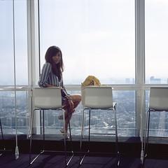 Louise (Petit Ming) Tags: film rolleiflex 28gx zeiss fujifilm rdp3 japan tokyo roppongi roppongihill epson gtx900 v700