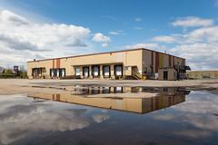 Hall-Chem (Le.Lapin.Noir) Tags: canon 6d canada urban factory urbex abandoned reflections sky dslr