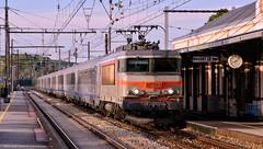 L'express 75 (RickyRbt) Tags: béton train gare corail sncf nezcassé bb7200