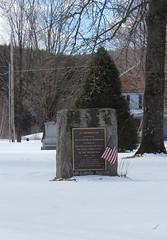 Richmond Vermont War Memorial (pegase1972) Tags: richmond vermont warmemorial us usa unitedstates hiver snow neige winter