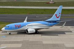 TUIfly Boeing 737-7K5(WL) D-AHXG (EK056) Tags: tuifly boeing 7377k5wl dahxg düsseldorf airport