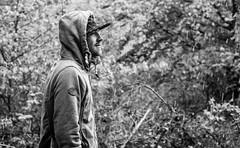 Portrait im Regen! Sony Alpha 7III  Lens FE 3.6-5.6/28-70mm (Chris.K.Photo) Tags: portrait photography schwarzweis blackandwhite sonyalpha7iii sony sonyalpha amazing rain regen cap kaputze portraitphotography flickr foto