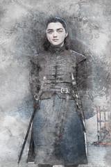 Arya Stark of Winterfell (Jackie XLY) Tags: got arya aryastark stark gameofthrones