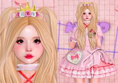 0960 (Luna X Takemitsu) Tags: cute kawaii harajuku event sanarae {limerence} the garden gimme production rare skin genus nini planet michan lotus exia sugarbun vanity fameshed gacha