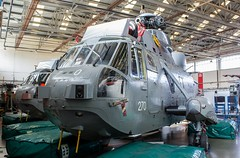 XV655 Westland Sea King HAS.6 @ HMS Sultan, Gosport, Hampshire. (Sw Aviation) Tags: xv655 westland sea king has6 hms sultan gosport hampshire xv708 xv660 xv576 zg817 flying flight sikorsky avgeek airplane planes wreck relic newcommen hangar withdrawn service training grey helicopter heliport chopper