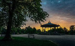 Ropner Park Sunset (Simon McCabe) Tags: stand band life simonmccabe teesside stockton park ropner uk weather sunset