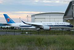 F-WZGP Airbus A350 China Southern (@Eurospot) Tags: b308t fwzgp airbus a350 a350900 chinasouthern toulouse blagnac