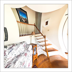 Up the Stairs (Timothy Valentine) Tags: surrealism stairs camera2 highkey 2019 home 0519 eastbridgewater massachusetts unitedstatesofamerica week202019 startingtuesdaymay142019 52weeksthe2019edition