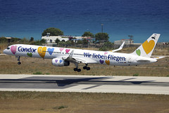 D-ABON (QC PHOTOGRAPHY) Tags: rhodes diagoras greece july 30th 2018 condor wei lieben fliegen b757300wl dabon