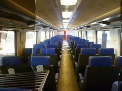Train interior - the Benelux Intercity Brussel service, second class. (calderwoodroy) Tags: sncb nmbs intercitybrussel beneluxtrain nsinternationaal train netherlands nederland