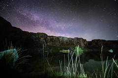 milky way dartmoor (clickitysnap) Tags: foggintor quarry milkyway stars night dartmoor sony a99 full frame galaxy carlzeiss1635mm