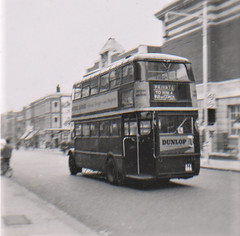 London transport STL506  driver trainer Acton 1954. (Ledlon89) Tags: london bus buses transport lt lte lptb londonbus londonbuses vintagebuses 1954