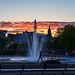20190514 Solnedgång Bältesspännar parken