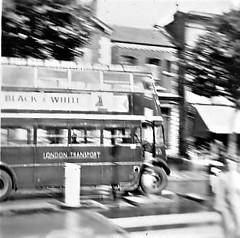 London transport STL in Chiswick high road 1954. (Ledlon89) Tags: stl stlbus aec regent lt lte londontransport bus buses londonbus london londonbuses transport chiswick 1954