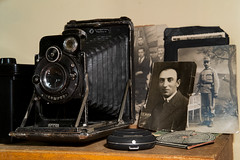 The Spirit of Photography (Valentine Kleyner) Tags: fuji xe1 kw patent etui bertram chronos old stilllife