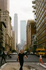 WALK (GPhace) Tags: 2019 35mm filmphotography gc400 kodak manhattan minoltax700 newyorkcity spring ultramax400 cityscape manualfocus streetphotography