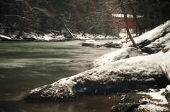 Mcconnels Mills State Park, PA (michaelstafford5) Tags: mcconnellsmillstatepark mcconnellsmill pastatepark statepark slipperyrockcreek slipperyrockgorge coveredbridge motionblur ndfilter pentaxian pentax pentaxart k5 landscape landscapephotography winter