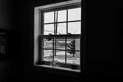 Marina (Esaú Alberto Canto Novelo) Tags: viaje windsor snow nieve black white bw ice nova scotia