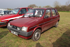 Austin Metro 1.3  HLE B395JRB (Andrew 2.8i) Tags: haynes museum sparkford classic car cars classics breakfast meet show british hatch hatchback bl leyland rover 1300hle 13hle 1300 hle 13 metro mini austin